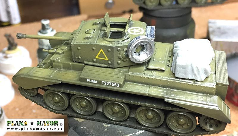 Cromwell Mk IV otra vista lateral