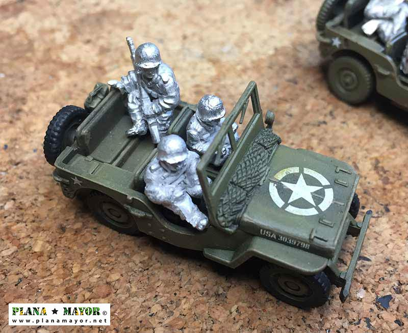 Jeep Willys MB de mando