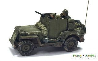 3-inch Gun Motor Carriage M10 Tank Destroyer - detalle interior derecha