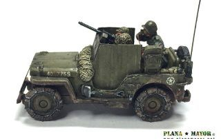 3-inch Gun Motor Carriage M10 Tank Destroyer - detalle interior izquierda