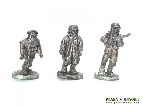 Waffen SS Command with radio